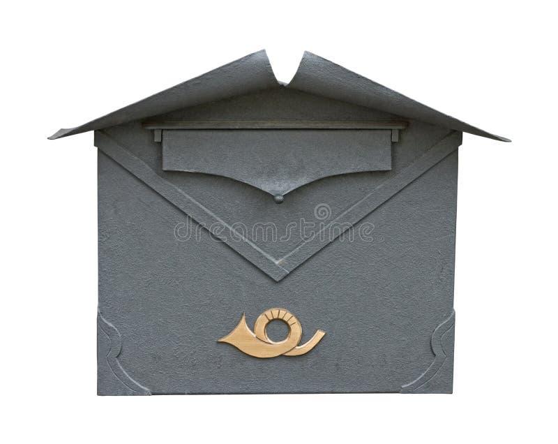 Ritaglio classico europeo della cassetta postale fotografia stock