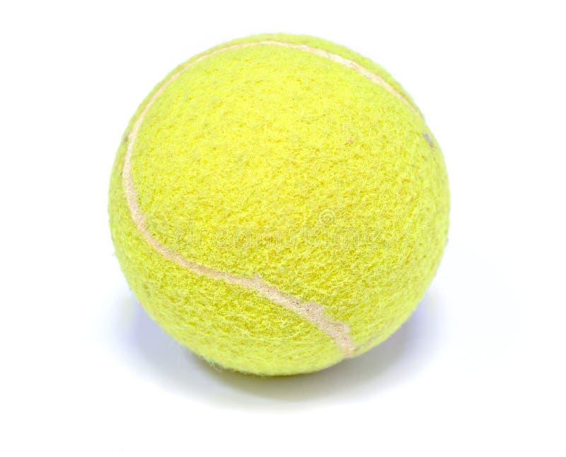 Ritaglio della pallina da tennis immagine stock