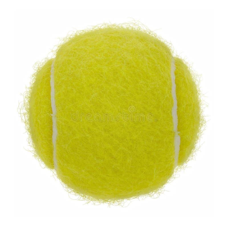 Ritaglio della sfera di tennis immagine stock