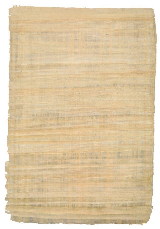 Ritaglio egiziano del papiro fotografia stock