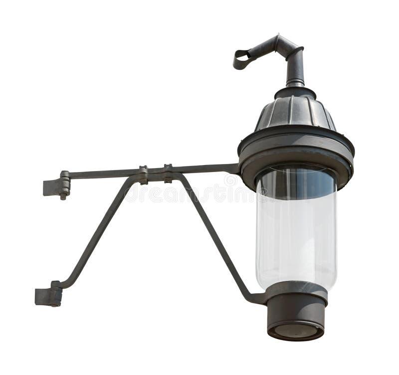 Ritaglio medioevale d'attaccatura della lanterna del gas immagini stock libere da diritti