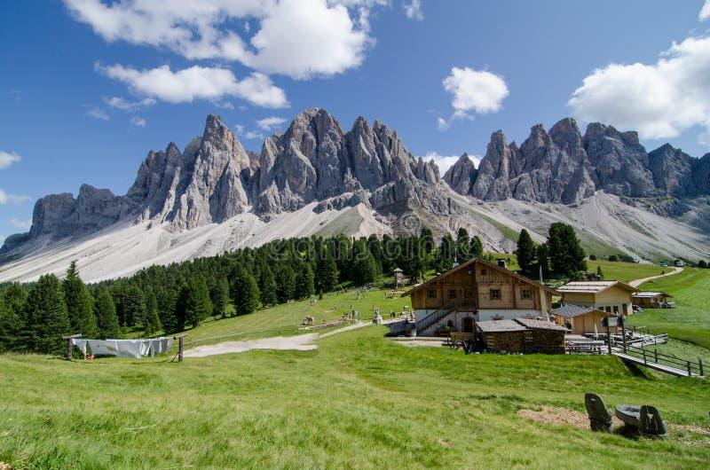 Ritirata della montagna fotografie stock libere da diritti