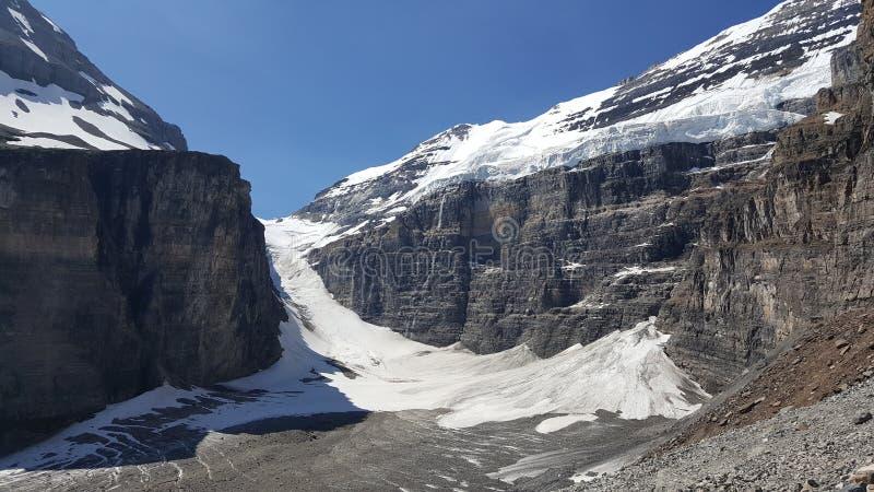 Ritirata glaciale fotografia stock