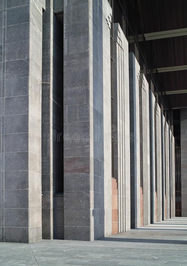 Ritmo de linhas arquitectónicas. fotos de stock