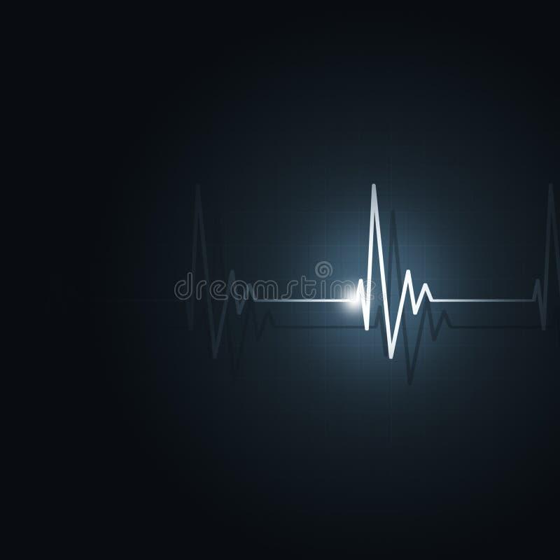 Ritmo do coração ilustração do vetor