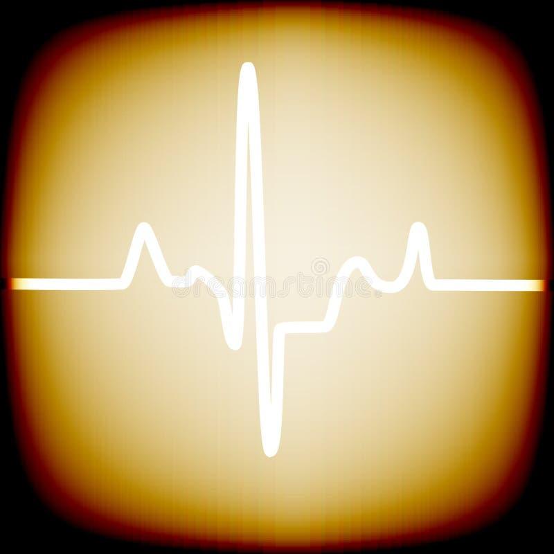 Ritmo do coração ilustração stock