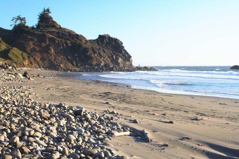 Ritratti del litorale dell'Oregon fotografia stock