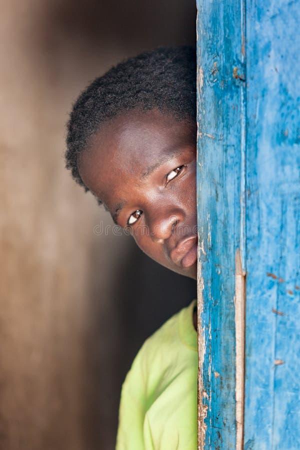 Ritratto africano del bambino immagine stock