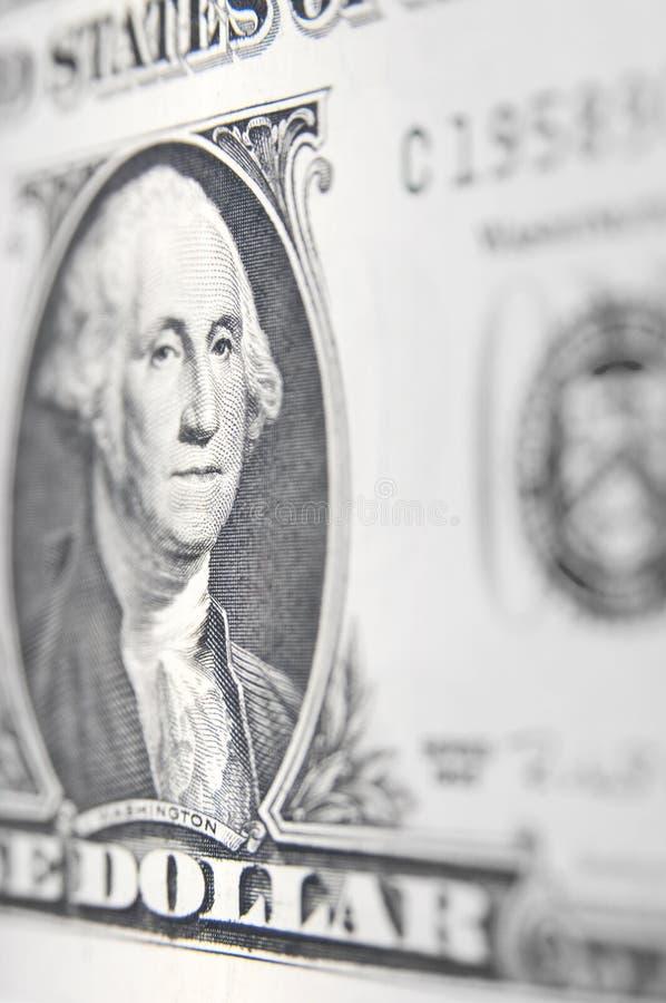 Ritratto americano del dollaro fotografie stock libere da diritti