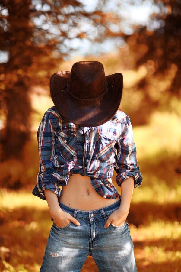 Ritratto americano di una giovane donna fotografie stock libere da diritti