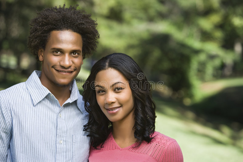Ritratto attraente delle coppie. immagine stock libera da diritti