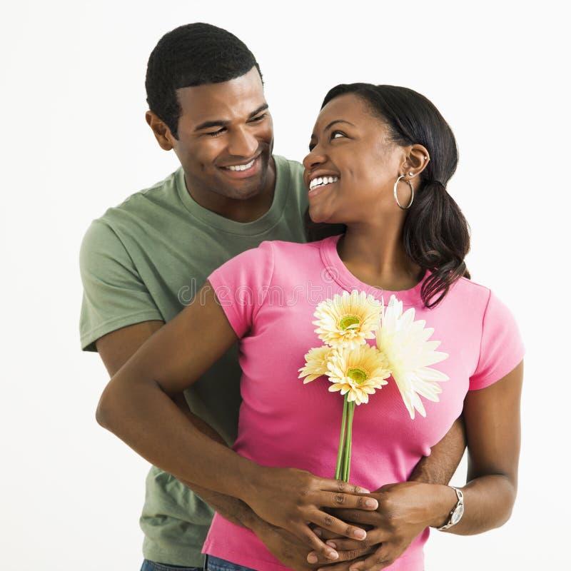 Ritratto attraente delle coppie. fotografia stock libera da diritti