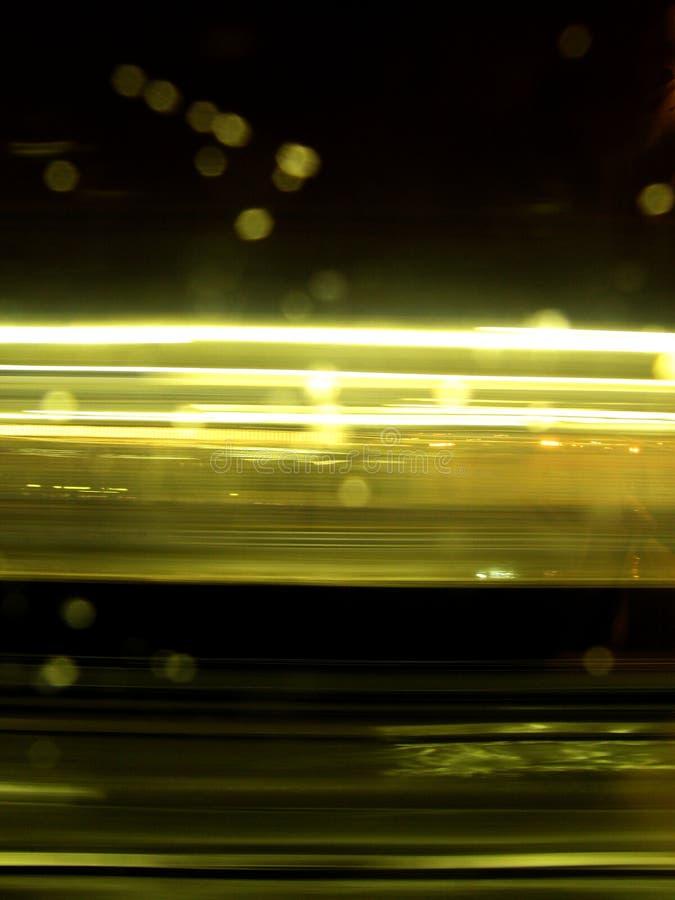 Ritratto commovente degli indicatori luminosi fotografia stock