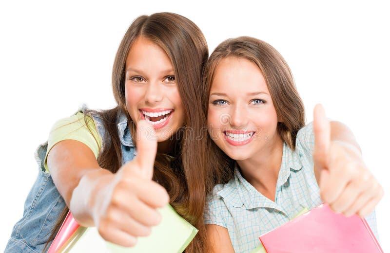 Ritratto degli studenti immagini stock
