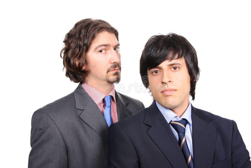 Ritratto degli uomini di affari immagine stock