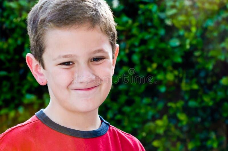 Ritratto del bambino allegro fotografie stock libere da diritti