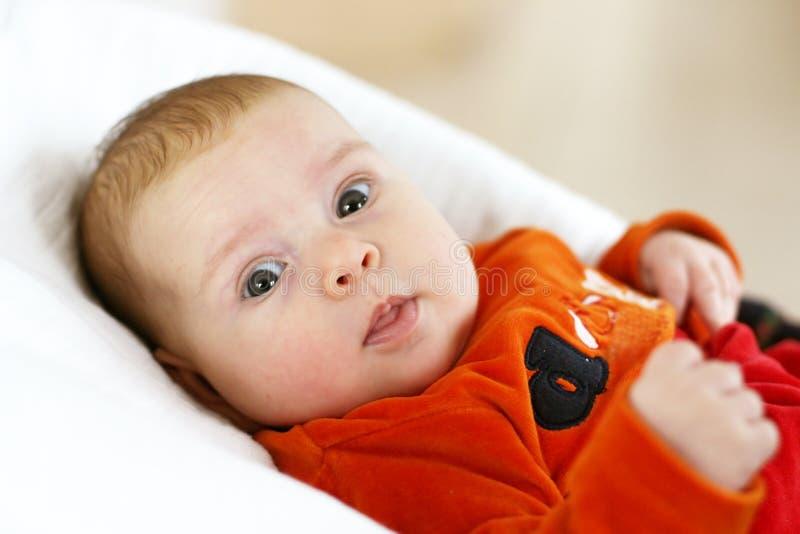 Ritratto del bambino sveglio fotografia stock