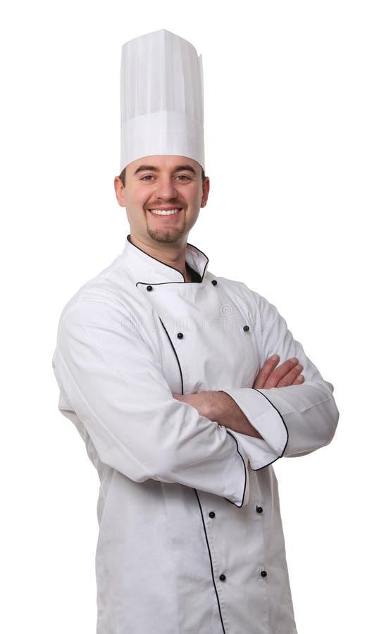 Ritratto del cuoco unico immagine stock libera da diritti