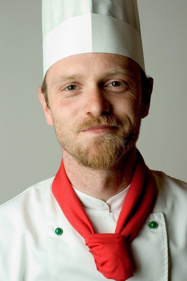 Ritratto del cuoco unico fotografia stock libera da diritti