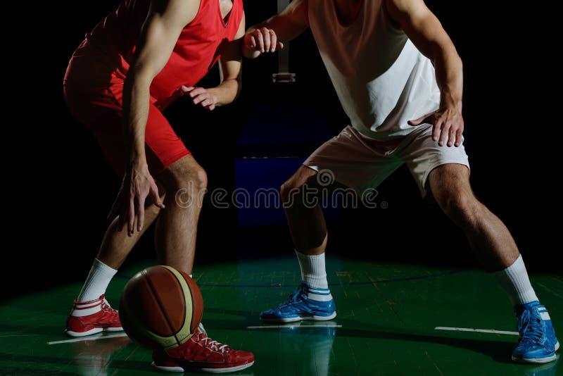 Ritratto del giocatore di pallacanestro fotografia stock libera da diritti