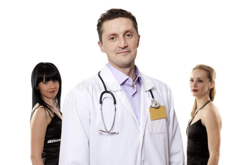 Ritratto del medico fotografie stock libere da diritti