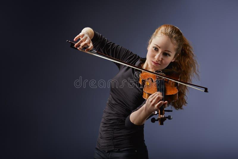 Ritratto del musicista fotografia stock libera da diritti