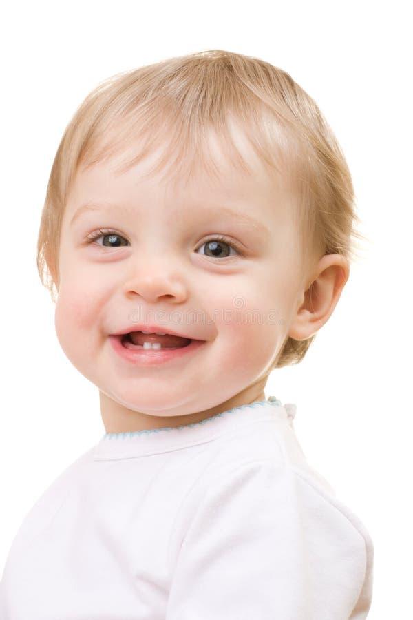 Ritratto del primo piano del bambino fotografia stock libera da diritti