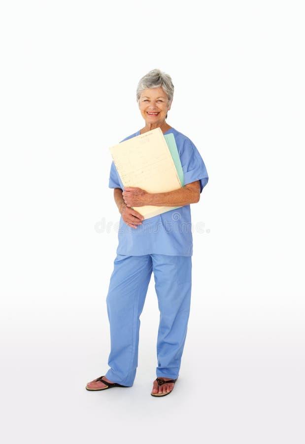 Ritratto del professionista medico fotografie stock libere da diritti