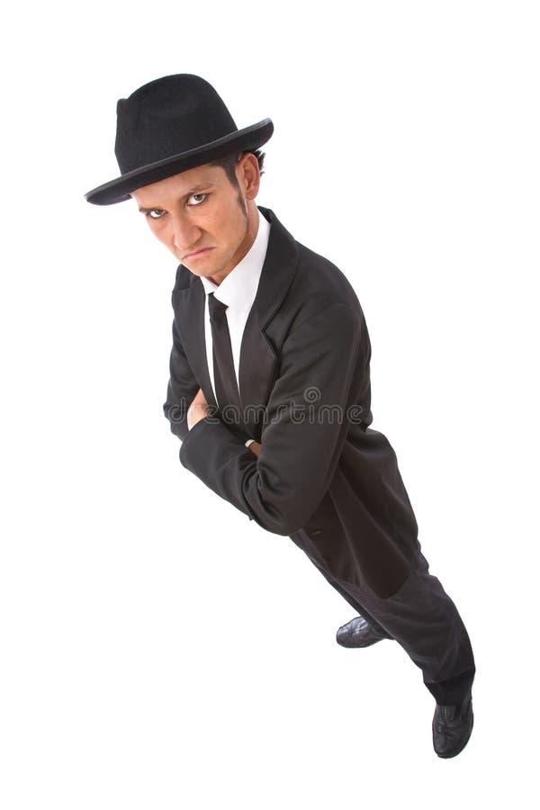 Ritratto dell'agente segreto immagini stock