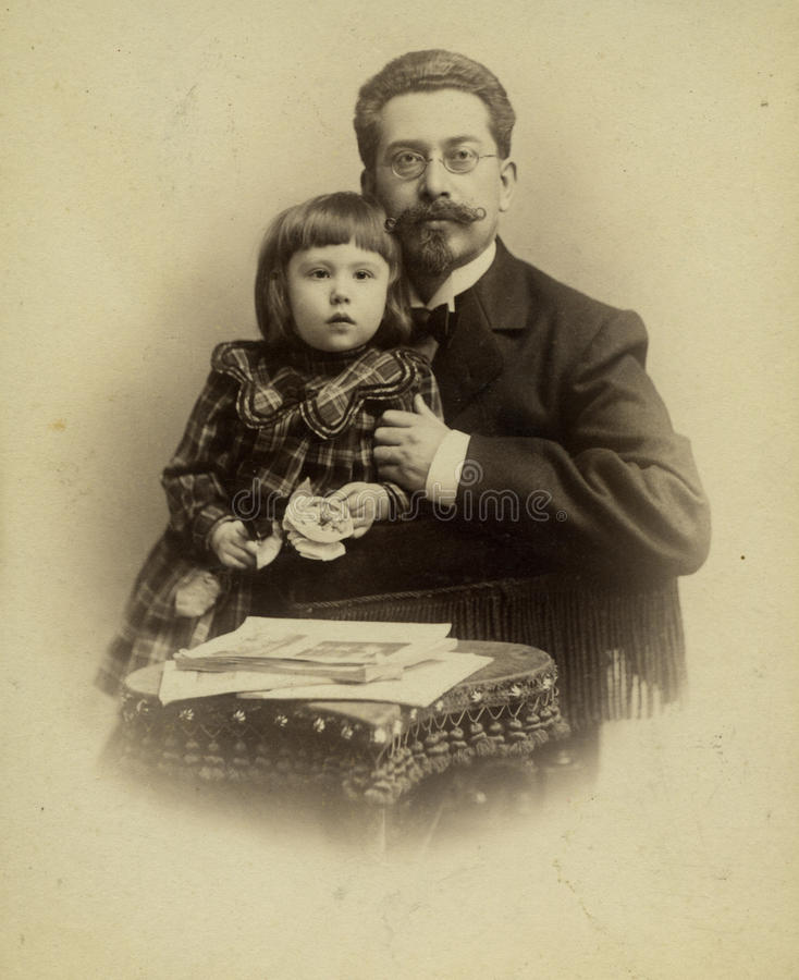 Ritratto dell'annata. fotografie stock