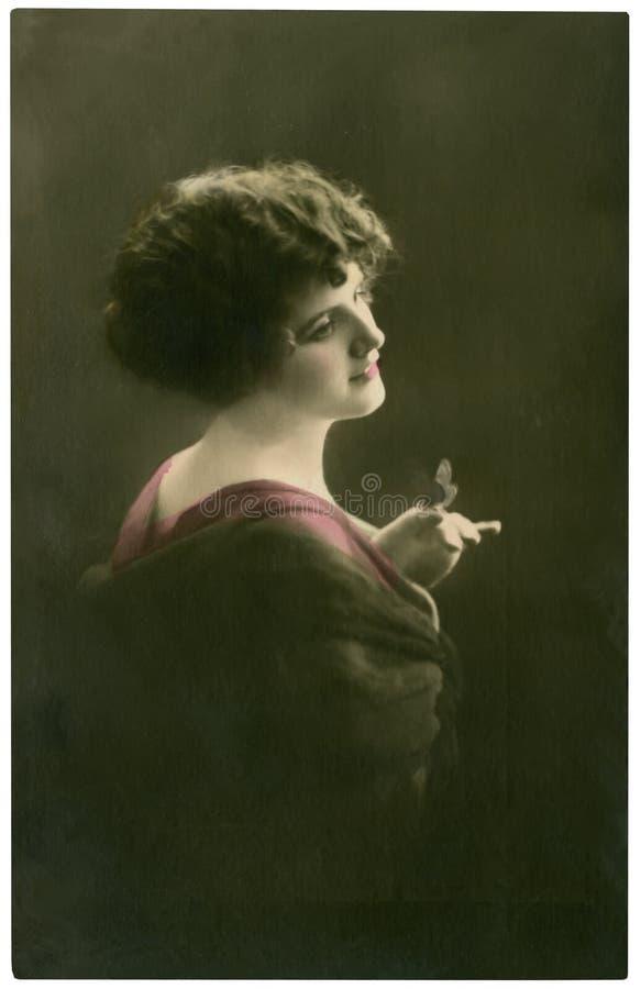 Ritratto dell'annata. immagine stock libera da diritti