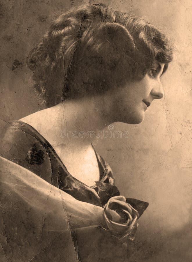 Ritratto dell'annata fotografie stock