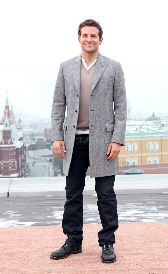 Ritratto dell'attore Bradley Cooper fotografia stock libera da diritti