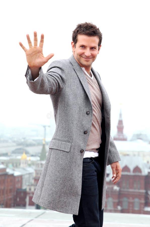 Ritratto dell'attore Bradley Cooper fotografia stock