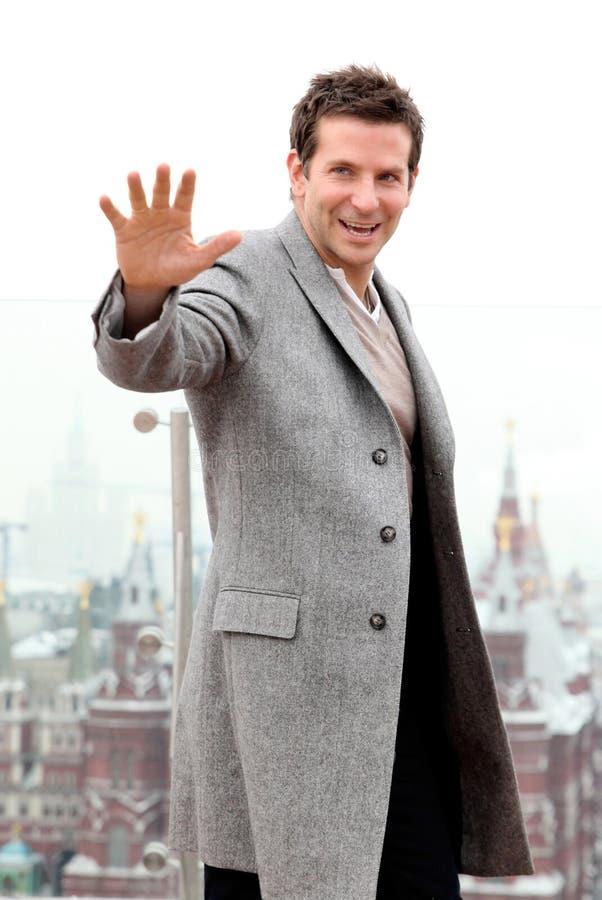 Ritratto dell'attore Bradley Cooper fotografie stock
