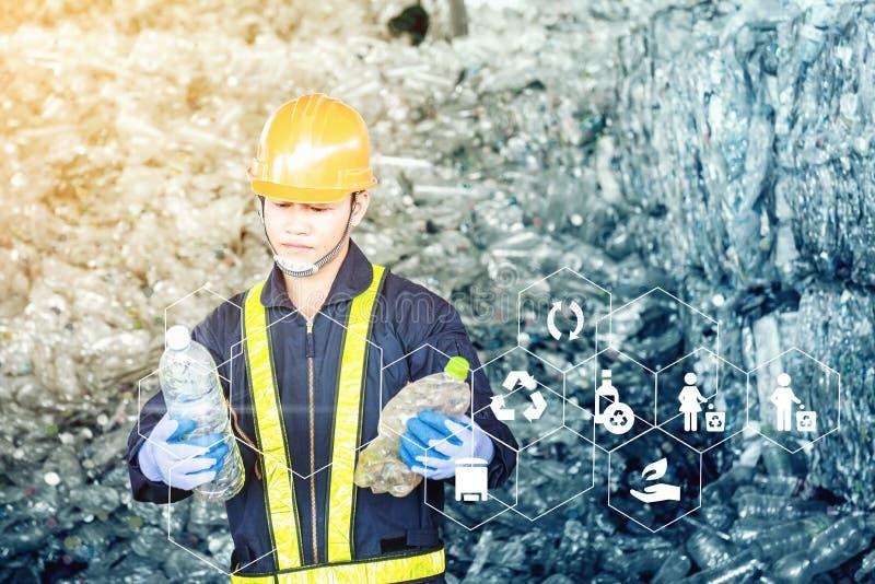 Ritratto dell'ingegnere industriale asiatico immagini stock