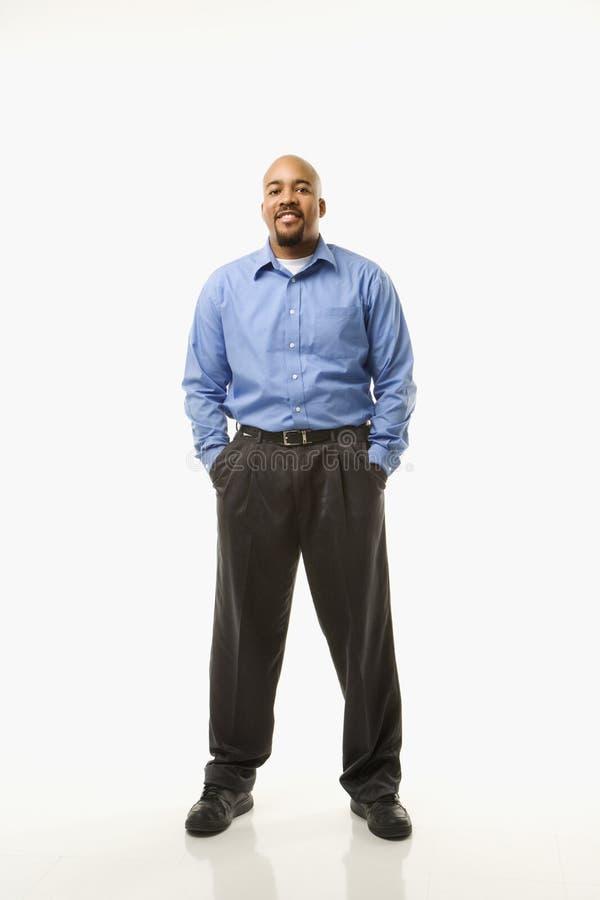 Ritratto dell'uomo. fotografia stock libera da diritti