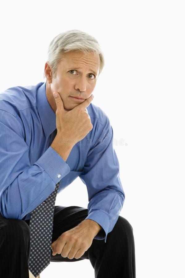 Ritratto dell'uomo d'affari. immagini stock libere da diritti