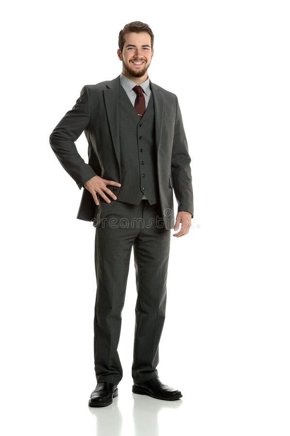 Ritratto dell'uomo d'affari immagini stock libere da diritti