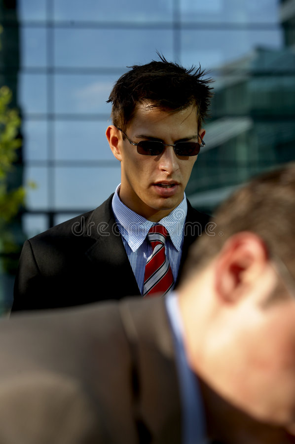 Download Ritratto Dell'uomo Di Affari Immagine Stock - Immagine di commercio, rottura: 3131795
