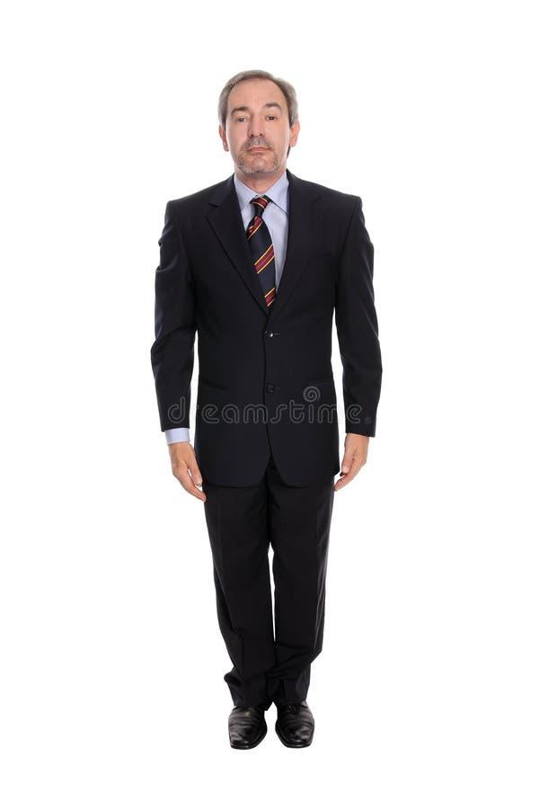 Ritratto dell'uomo di affari immagine stock