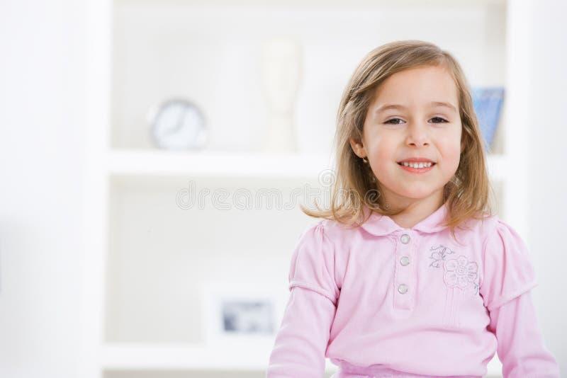 Ritratto della bambina sveglia immagine stock