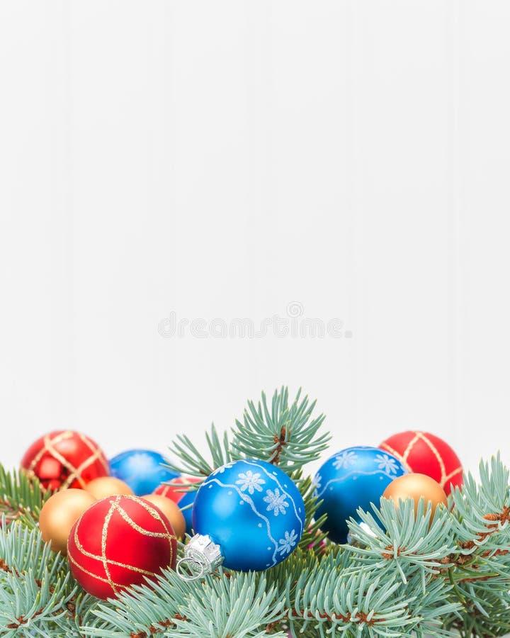 Ritratto della decorazione di Natale immagine stock