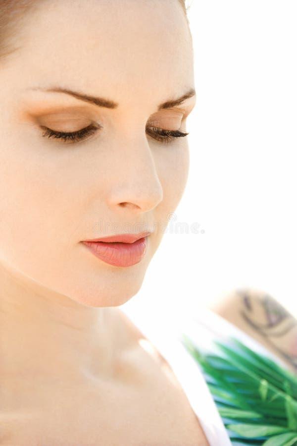 Ritratto della donna. immagini stock libere da diritti