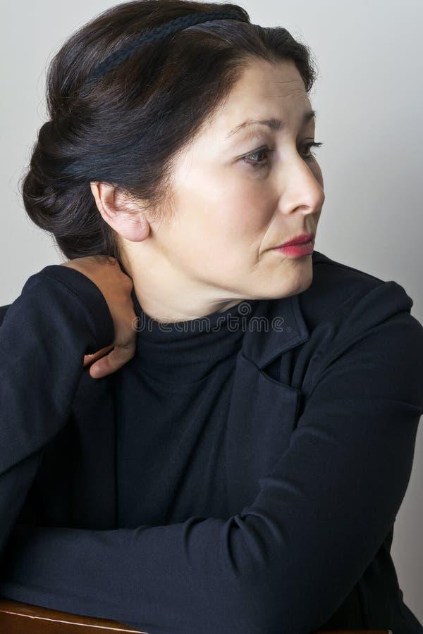 Ritratto della donna immagini stock