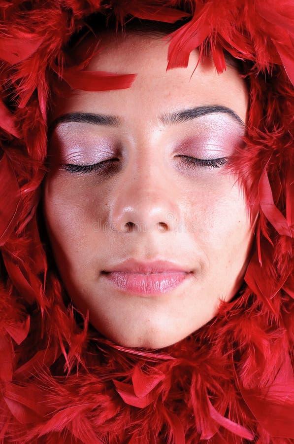 Download Ritratto della donna immagine stock. Immagine di piacevole - 7309943