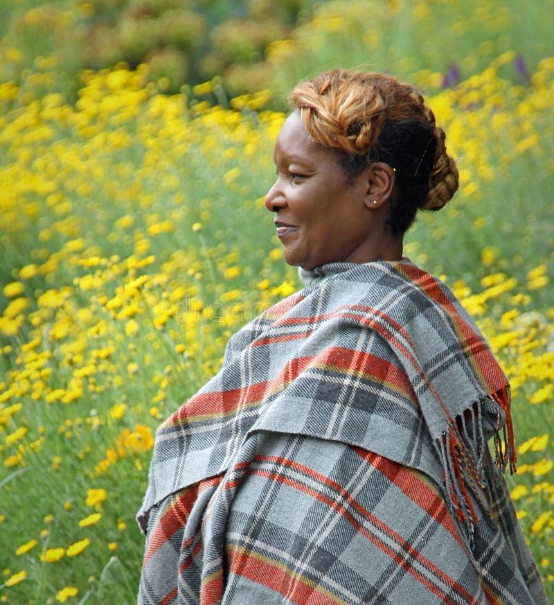 Ritratto della donna africana fotografie stock libere da diritti