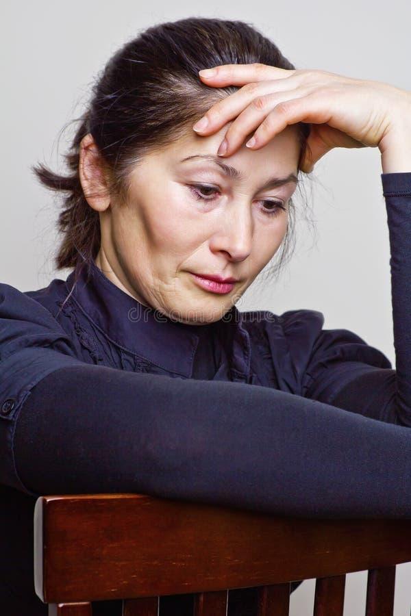 Ritratto della donna asiatica fotografia stock