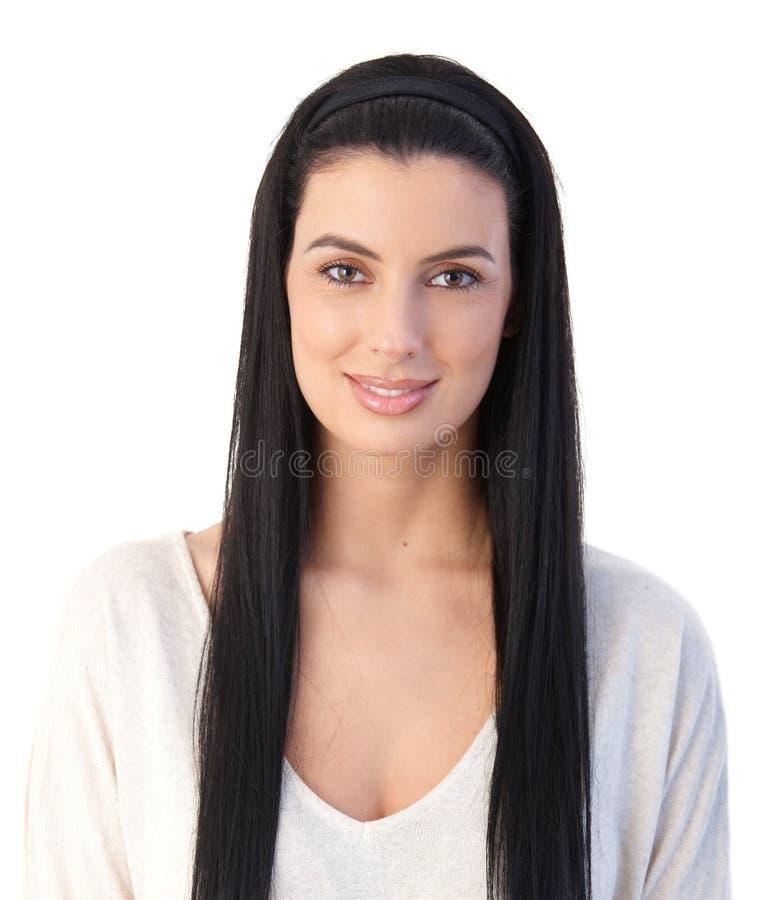 Ritratto della donna attraente immagine stock
