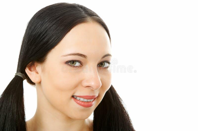Ritratto della donna di bellezza immagine stock libera da diritti